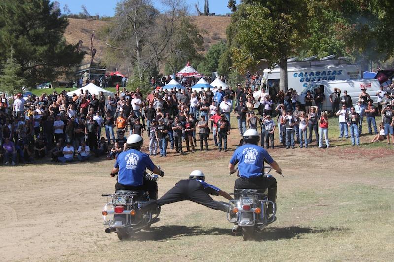 Backroads with Besty Love Ride 30 Victor McLaglen Motor Corp stunt