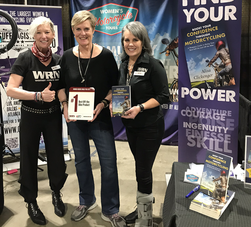 WRN Presents Awards to Attendees' Favorites at Long Beach IMS Alisa Clickenger
