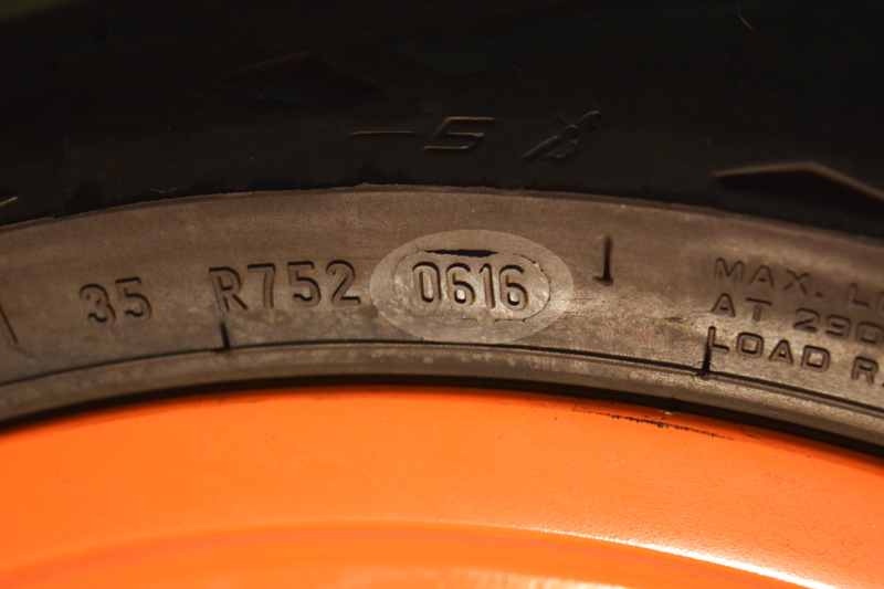 do it yourself motorcycle tire maintenance inspection date stamp