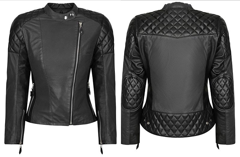 fashionable protective womens motorcycle apparel liberta sugar glider