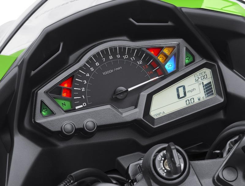 Kawasaki Ninja 300 Review Cockpit