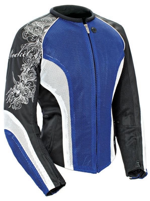 Joe Rocket Cleo 2.2 Jacket Review Blue White