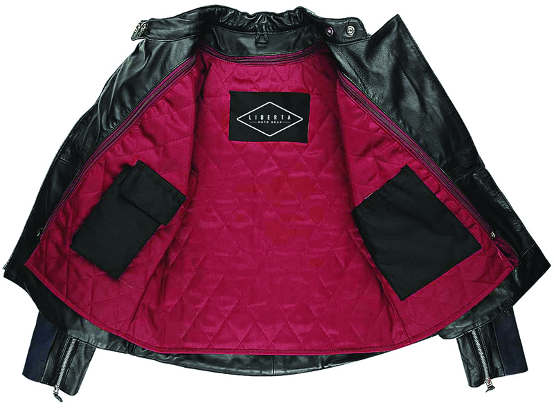 fashionable protective womens motorcycle apparel liberta sugar glider liner