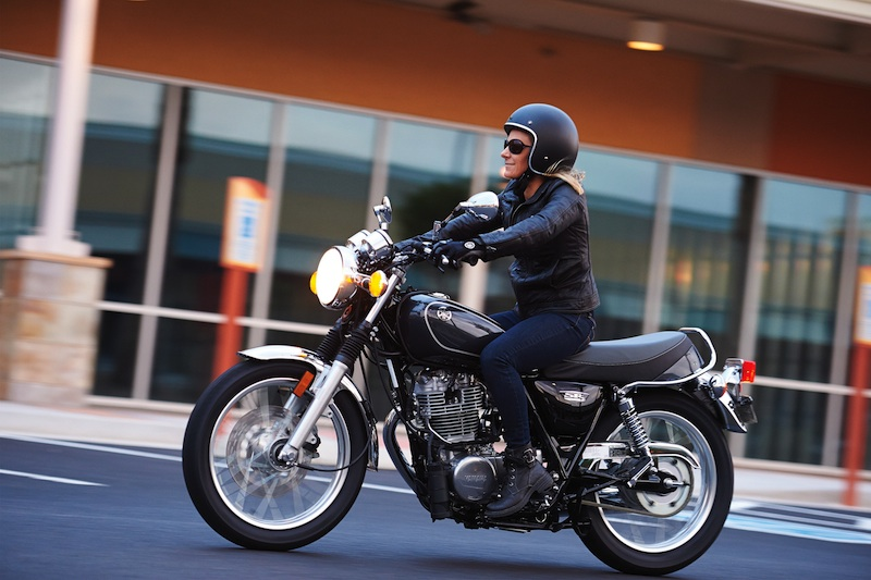 10 Motorcycles Were Excited About in 2015 Yamaha SR400