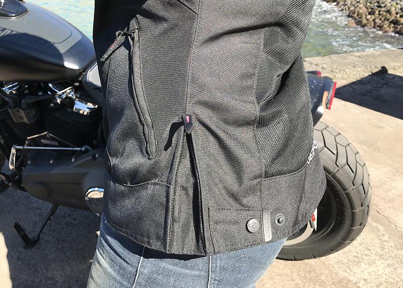 agv sport motorcycle jacket review sharp side adjustment