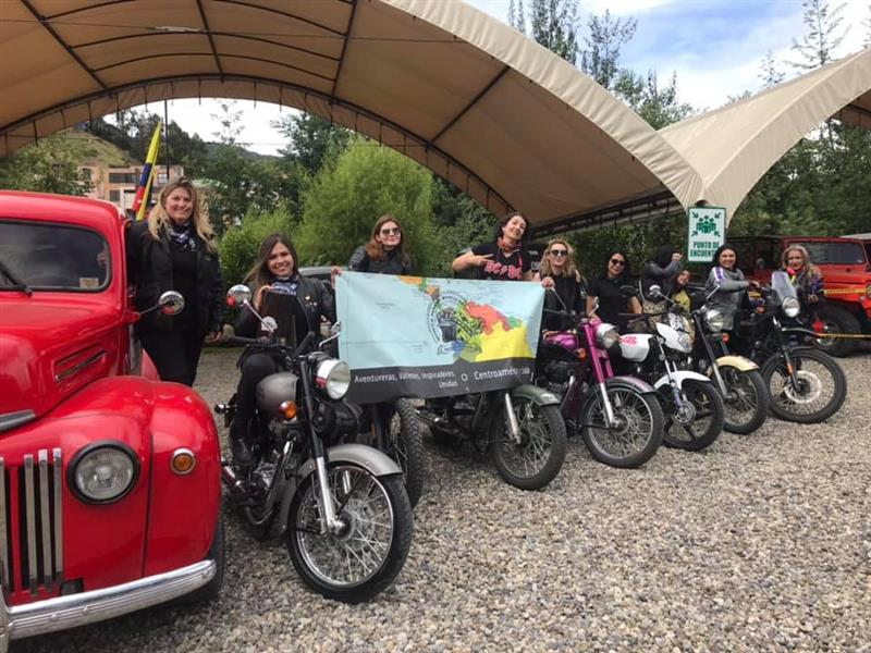 The Women Riders World Relay WRWR Hits the American Road Central America