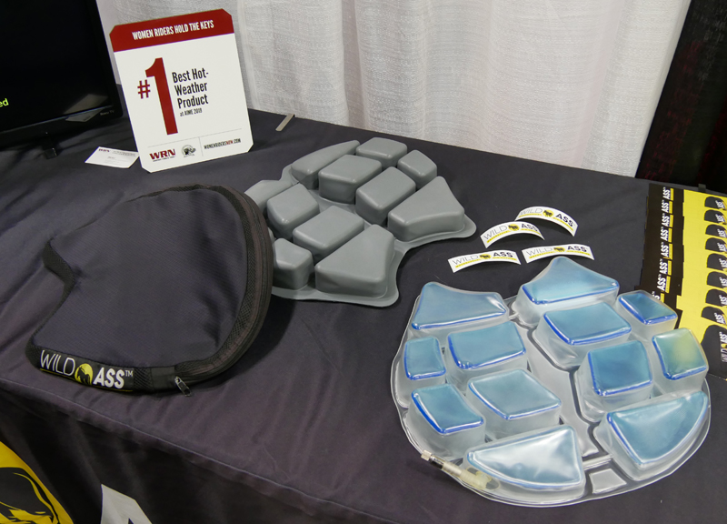 Women's Favorite Riding Gear, Products, and Accessories_motorcycle air cushion
