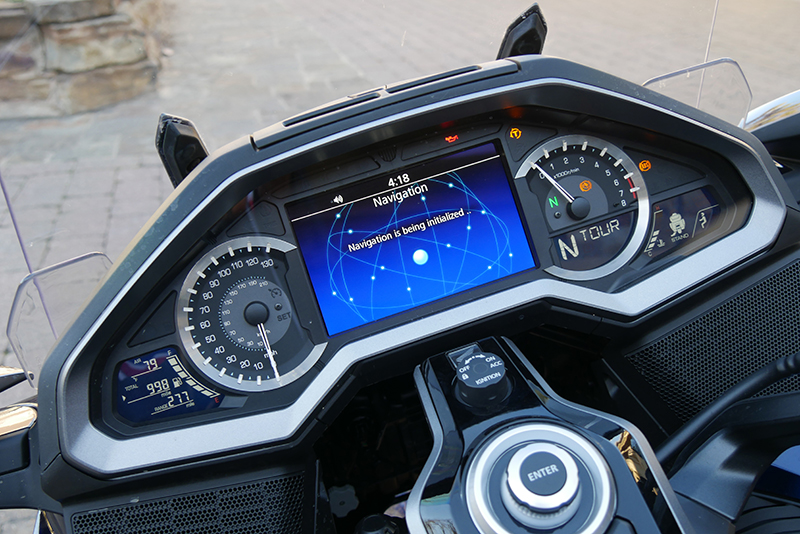 what we love about the new 2018 honda gold wing touring motorcycle dash
