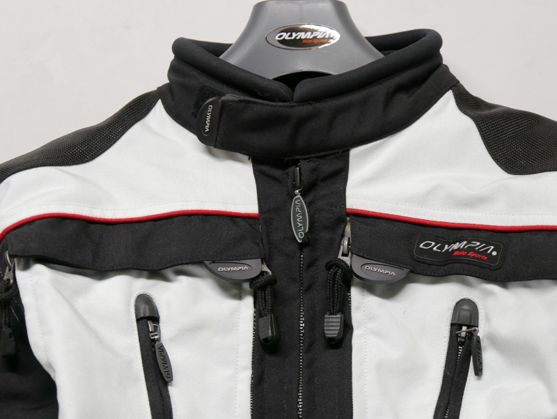 affordable technical 4 season motorcycle riding suit chest