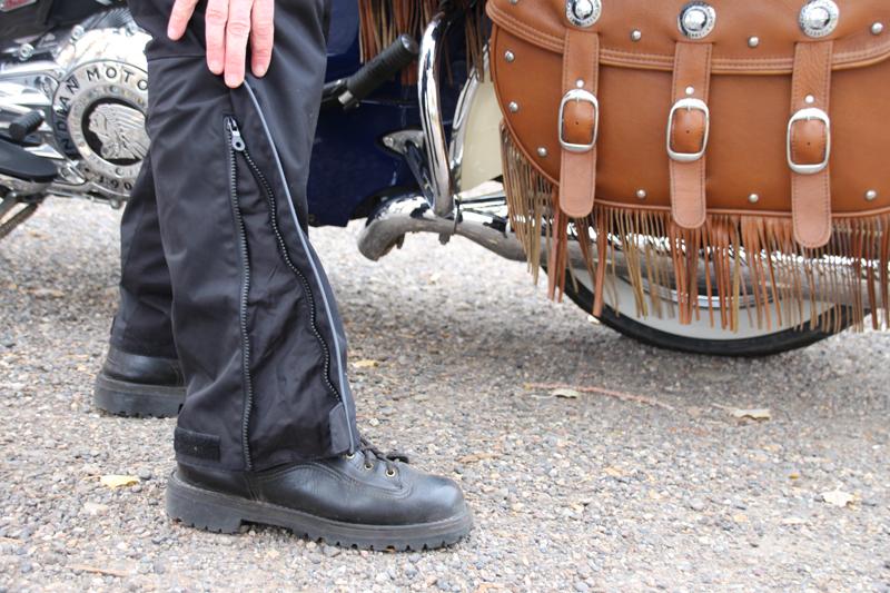 Review: Simple Waterproof Motorcycle Touring Pants Jacket Ankle Opening