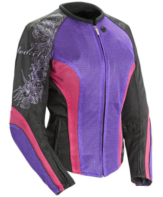 Joe Rocket Cleo 2.2 Jacket Review Pink Purple