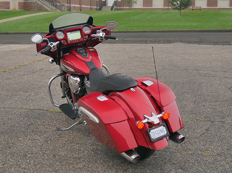Review: 2019 Indian Motorcycle Chieftain Limited_rear