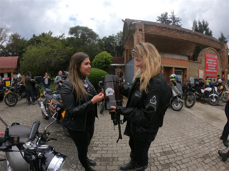 The Women Riders World Relay WRWR Hits the American Road Next Leg