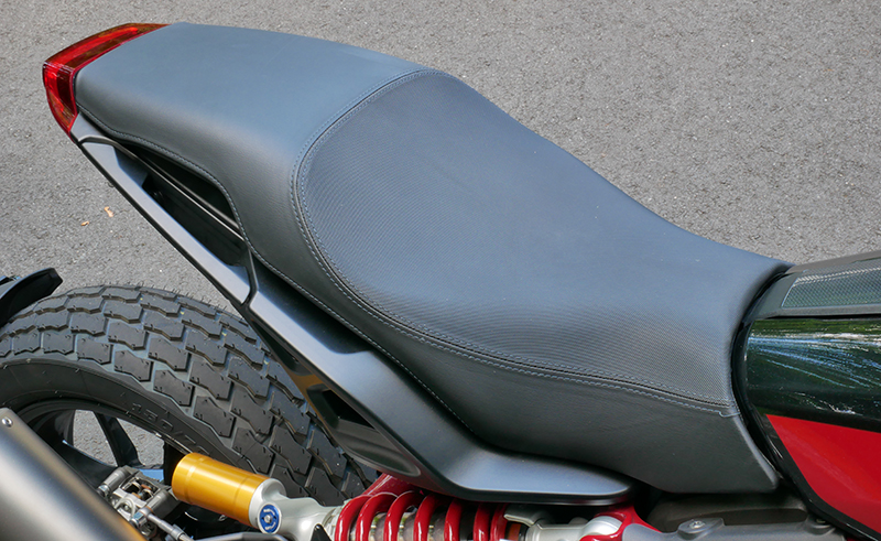 new bike review indian motorcycle ftr 1200 s v-twin roadster seat