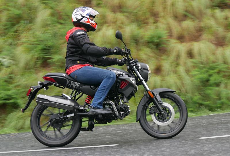 kymco k-pipe 125 small motorcycles big fun riding