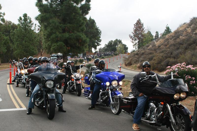 last love ride celebrates veterans castaic lake motorcycles