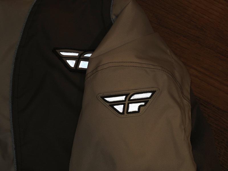 Reflective Panels Fly Racing Georgia II Jacket