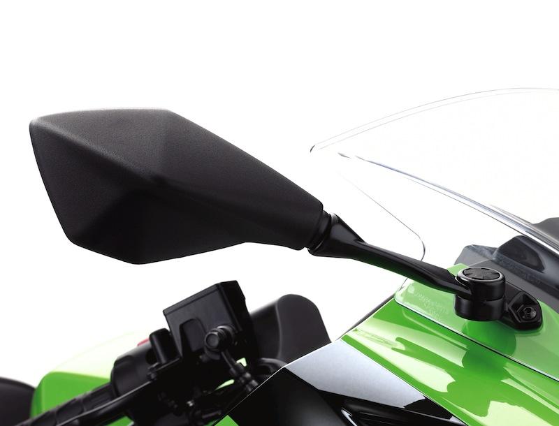 Kawasaki Ninja 300 Review Mirror