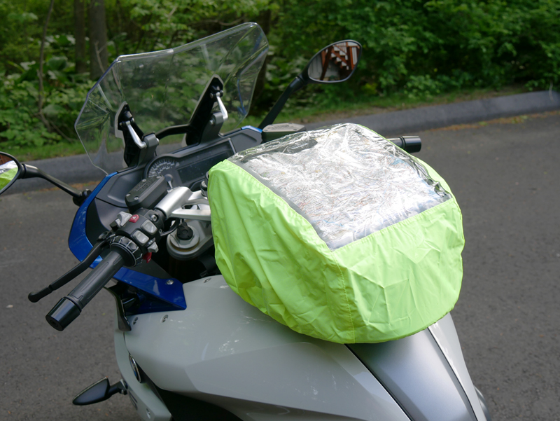 easy mount tank bags for standard sport sport-touring motorcycle rain cover