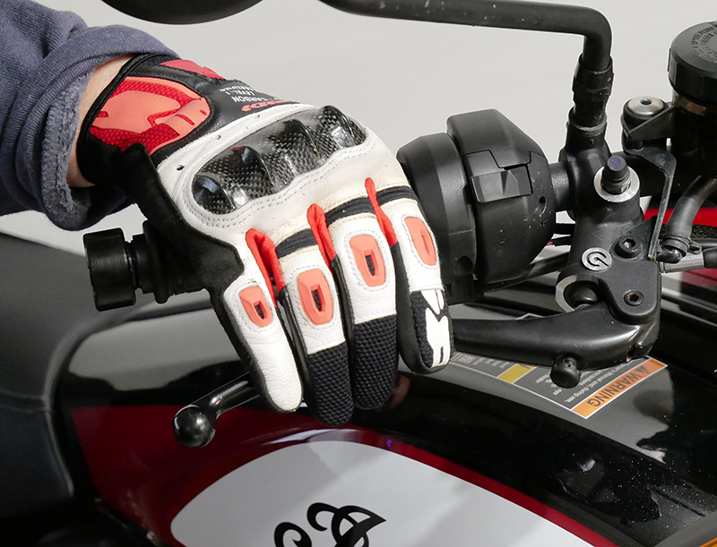 new bike review indian motorcycle ftr 1200 s v-twin roadster brake lever