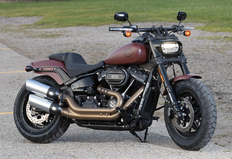 review 2018 harley-davidson softails fat bob new look