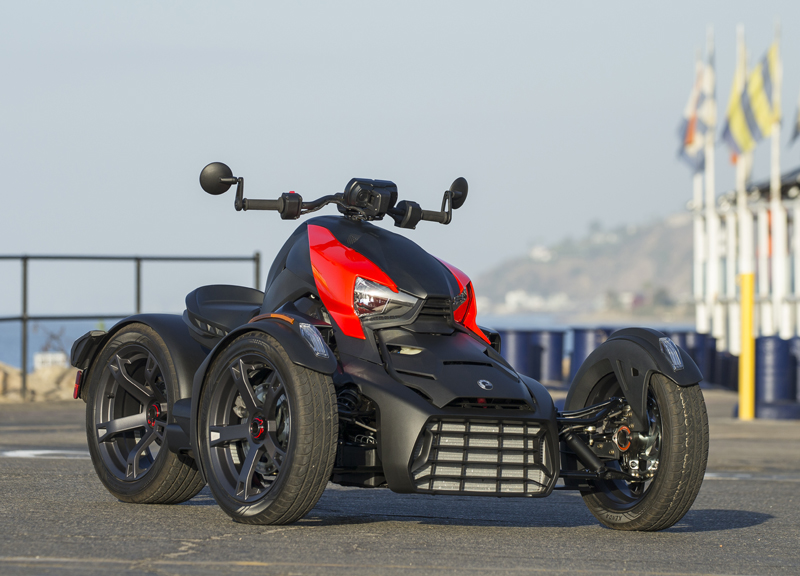Three-Wheeler Review: Can-Am Ryker Appearance