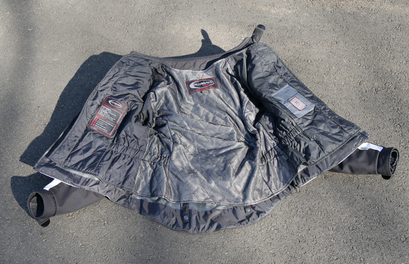 affordable technical 4 season motorcycle riding suit quilted liner