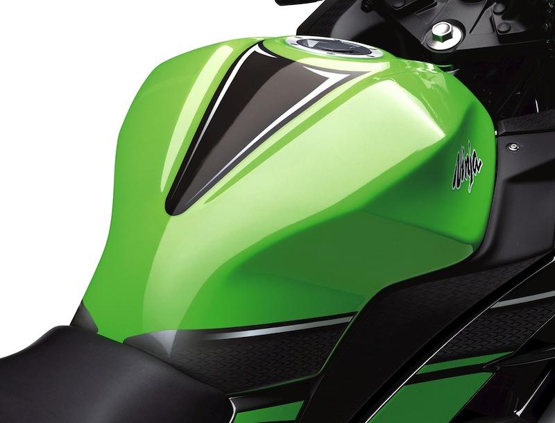 Kawasaki Ninja 300 Review Fuel Tank
