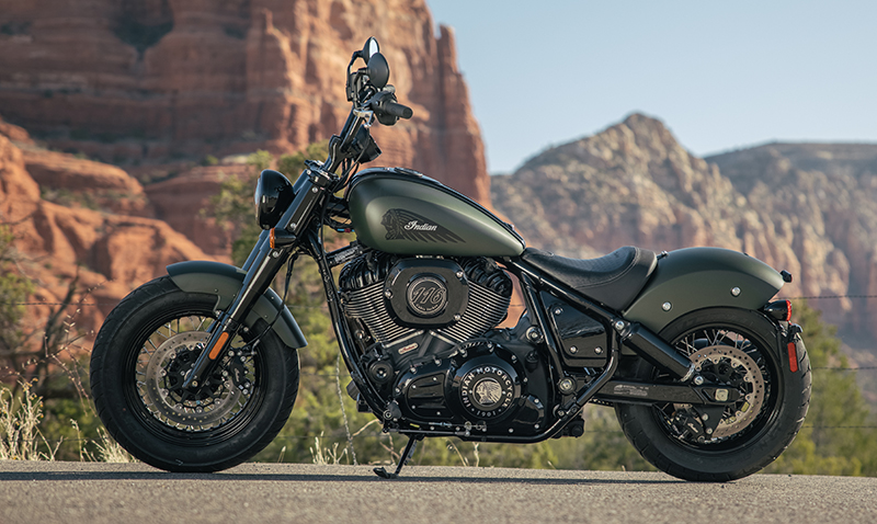 new motorcycle review 2022 indian motorcycle chief bobber left side