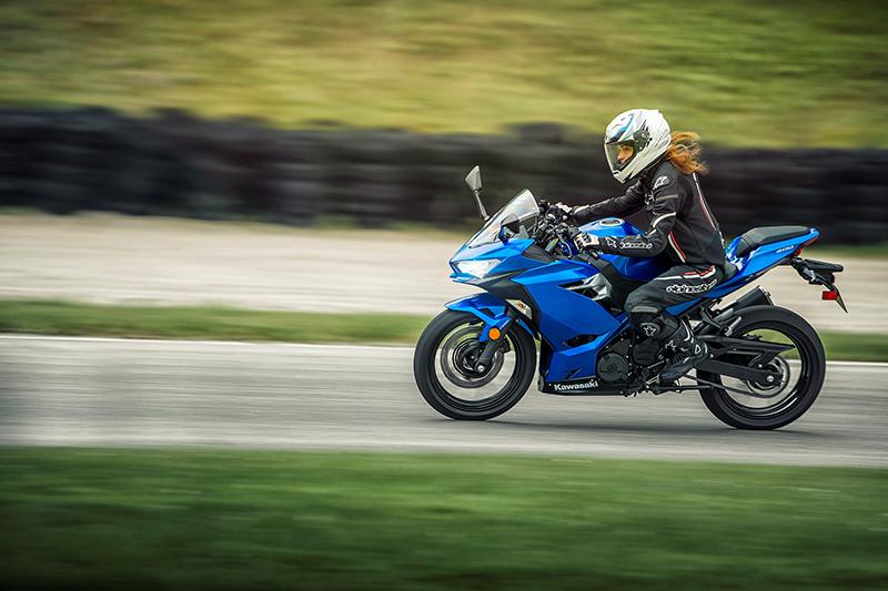 2018 new motorcycles Kawasaki Ninja 400 speed