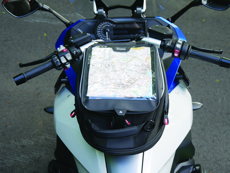 easy mount tank bags for standard sport sport-touring motorcycle map pouch