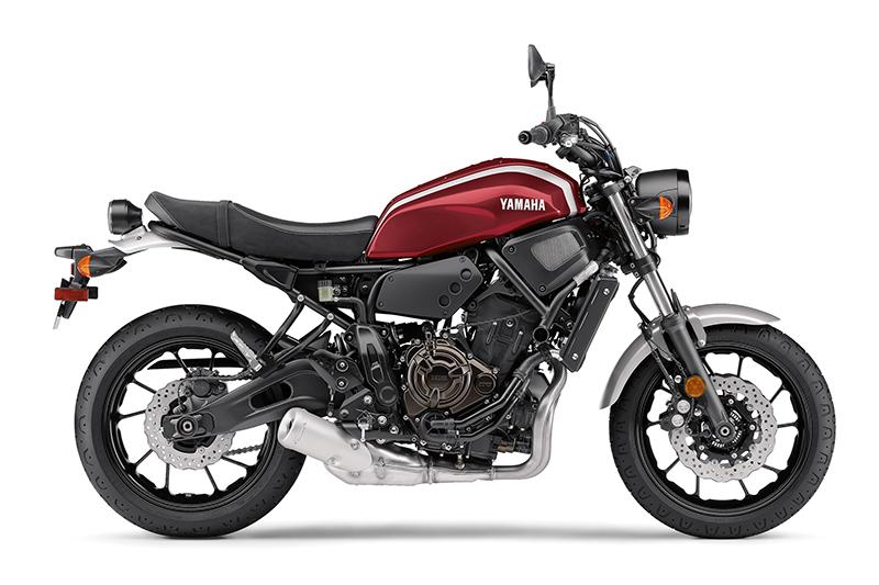 2018 new motorcycles Yamaha XSR700 compact profile