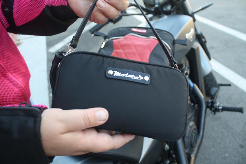 review the lauren bag by motochic valerie wristlet