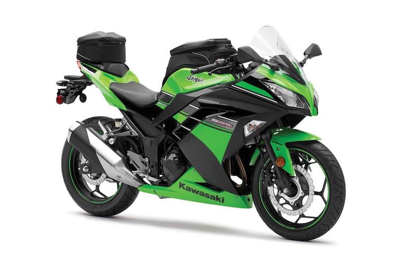 Kawasaki Ninja 300 Review With Bags