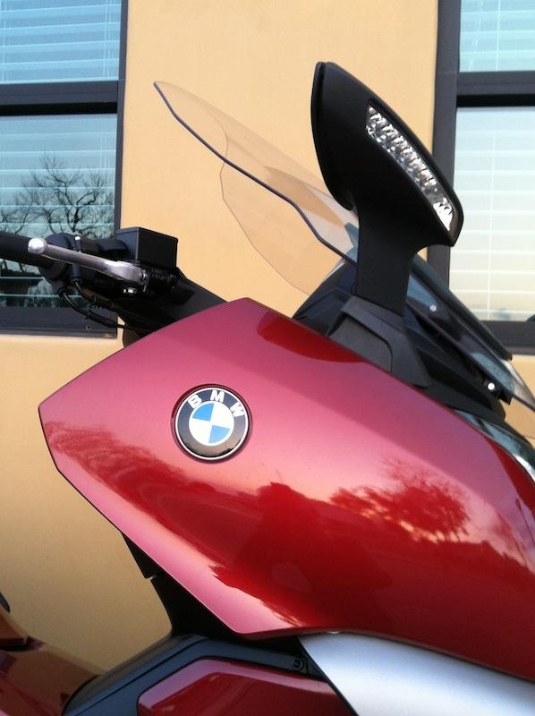BMW C 650 GT Review Adjustable Windshield