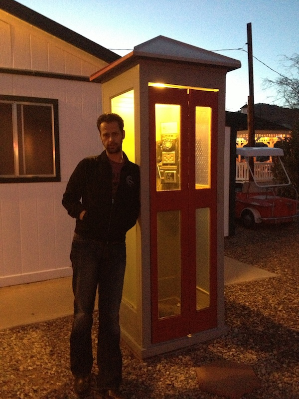 Review Shady Dell Bisbee Arizona phone booth