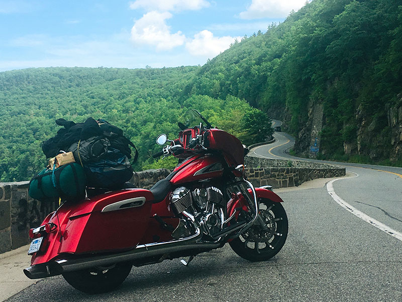 Review: 2019 Indian Motorcycle Chieftain Limited_camping3