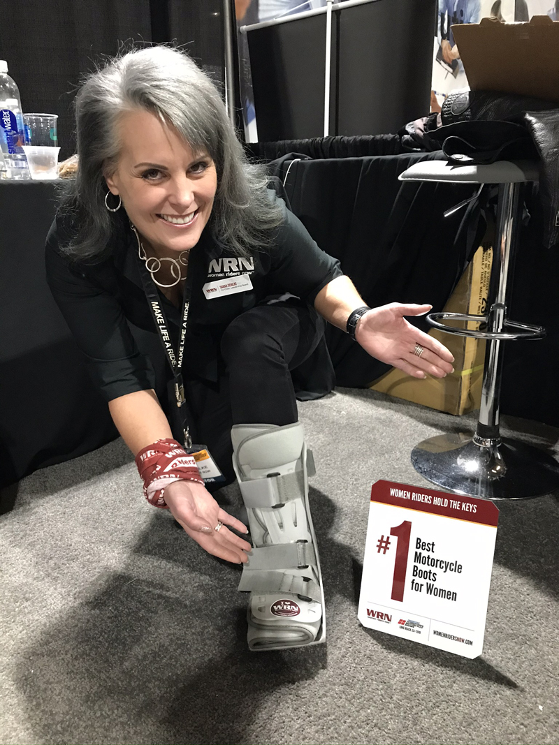 WRN Presents Awards to Attendees' Favorites at Long Beach IMS boots