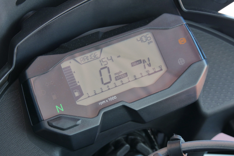 review bmw g 310 gs entry level dual sport lcd screen