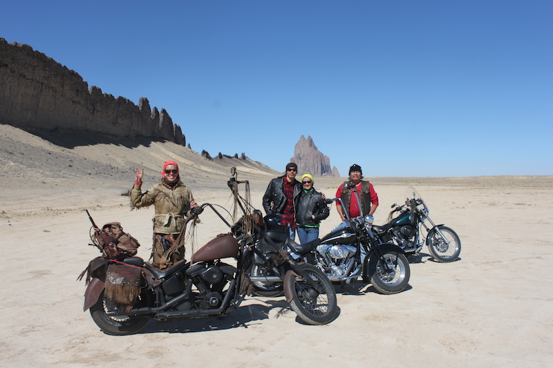 Backroads With Betsy Riding the Rez Part  1 shiprock mountain motorcycles