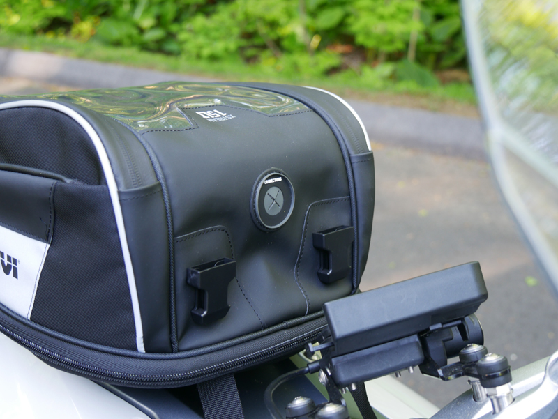 easy mount tank bags for standard sport sport-touring motorcycle accessory port