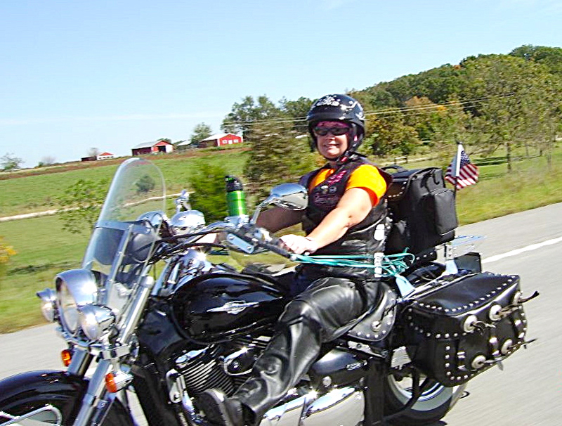grandma rides a road king and finds courage along the way shelly