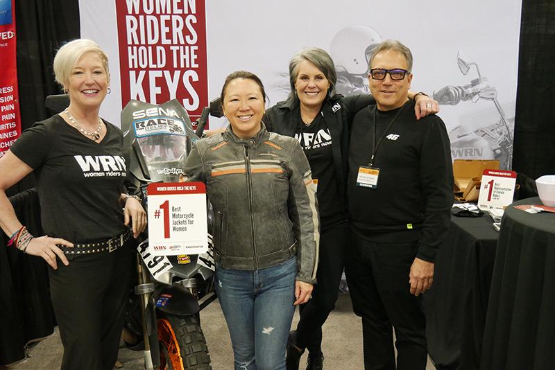 WRN Presents Winners at Denver IMS AGVSport Best Womens Jackets