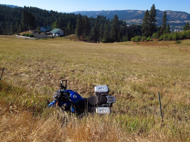Safe Riding Motorcycle Mishap Yamaha Ténéré mountain slope