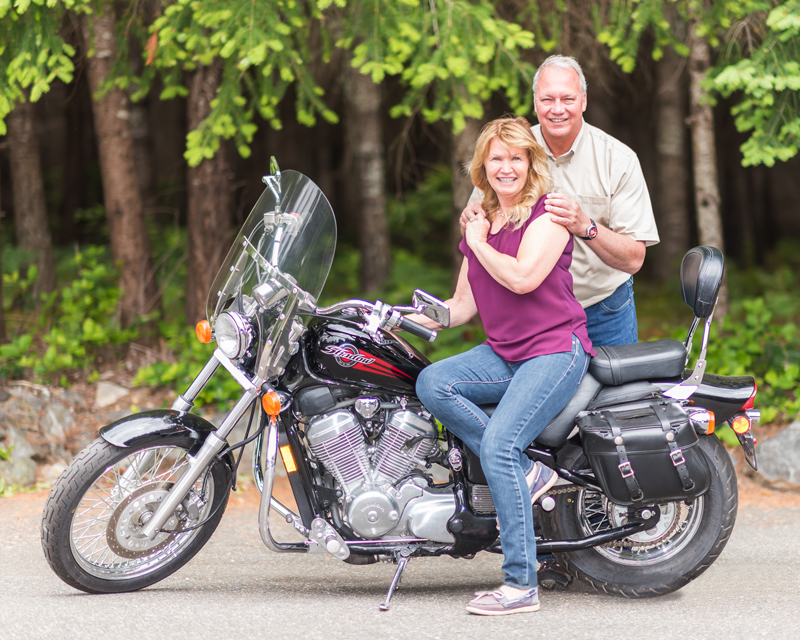Meeting Her Next Husband Leads to a Love of Riding Motorcycles charlie darrell