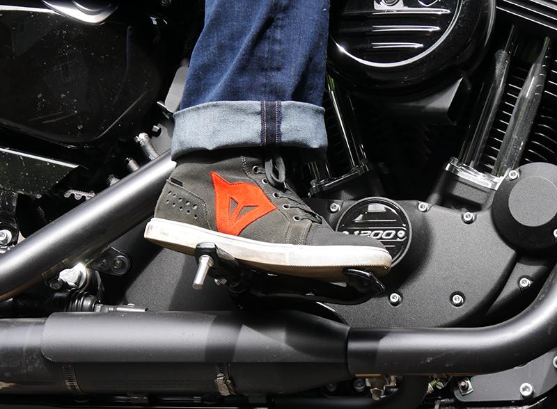 Review: Dainese Street Biker Lady Waterproof Motorcycle Sneakers
