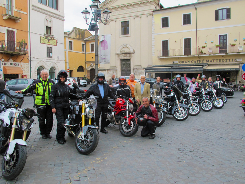 postcards from italy riding group