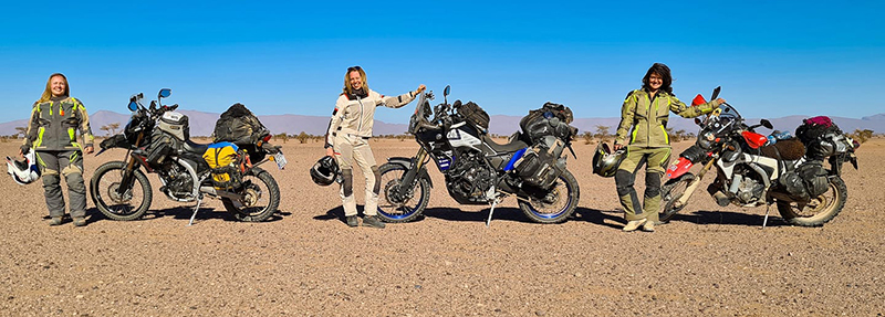 motorcycling safely in a pandemic women adventure riders