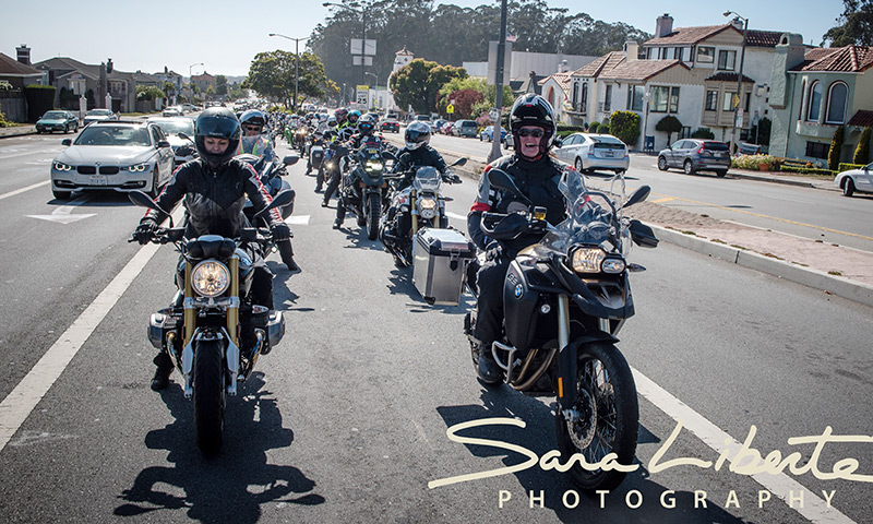 celebrate 100 years of women's right to vote with motorcyclists across america