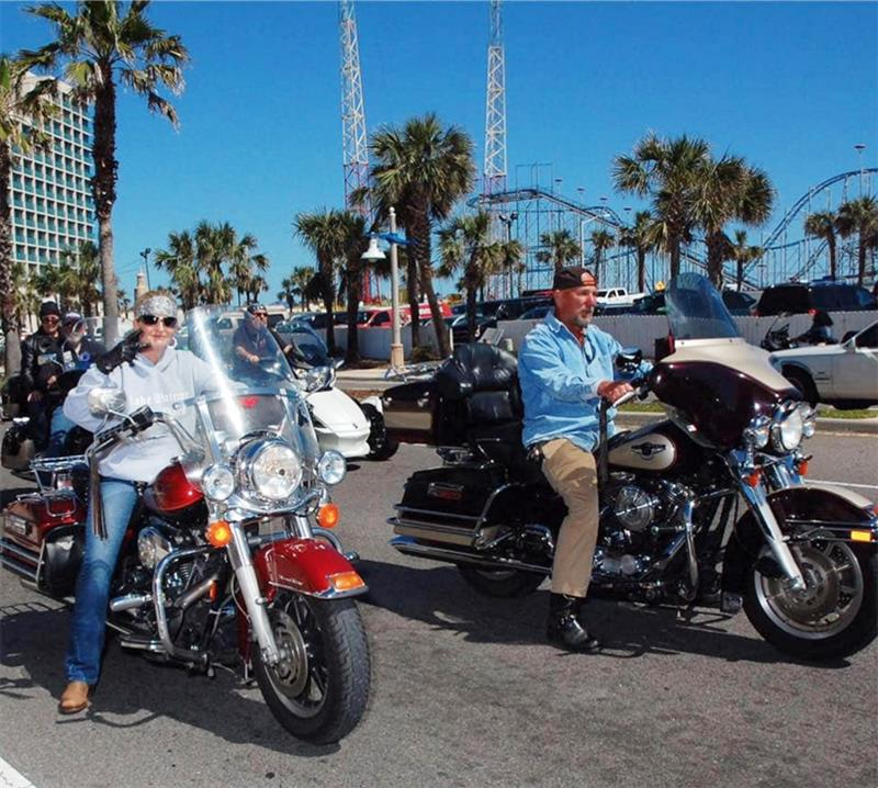 Motorcycle Riding Family Carries on the Touring Tradition Daytona Beach